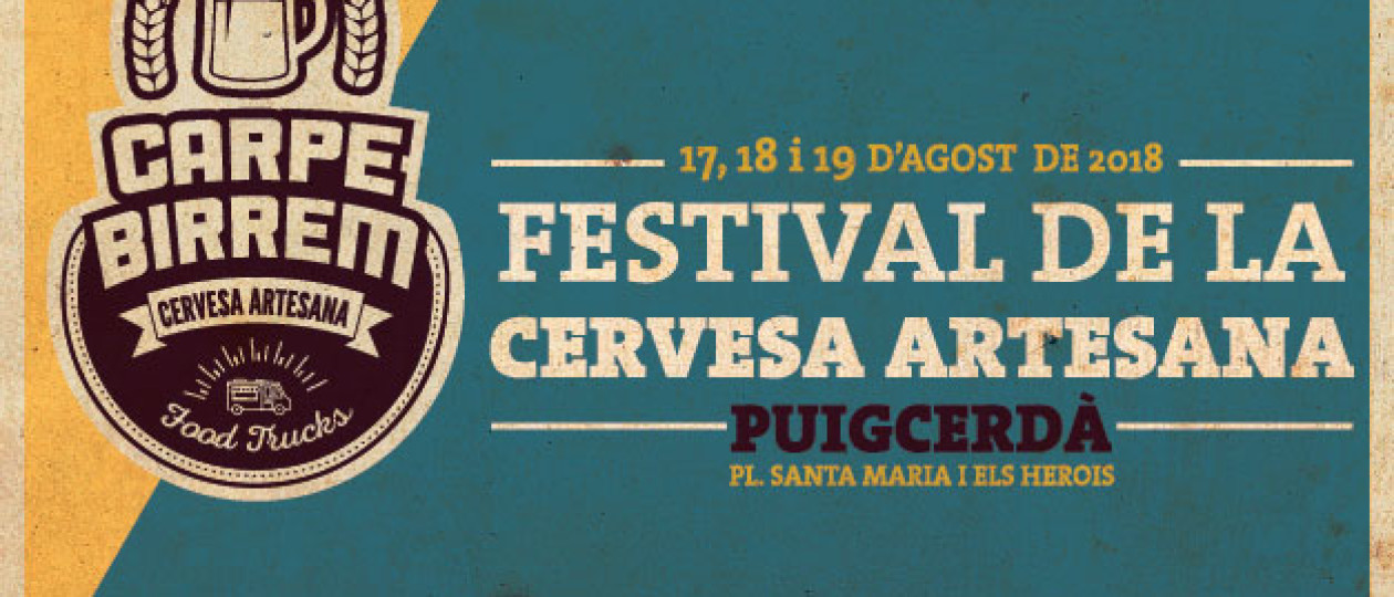 Carpe Birrem Puigcerdà //17, 18 i 19 d'agost de 2018